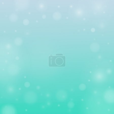 Illustration for Blurred vector background with bokeh - Royalty Free Image