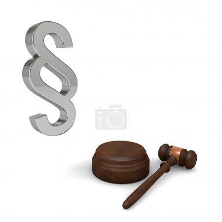 Photo pour Protection juridique est un site Web pour les utilisateurs et les utilisateurs des donateurs défis - image libre de droit