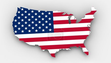 Photo pour États-Unis d'Amérique la terre des opportunités et de la liberté elle-même libre . - image libre de droit