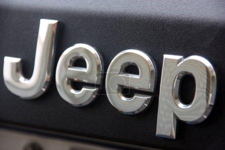 Jeep logo close-up