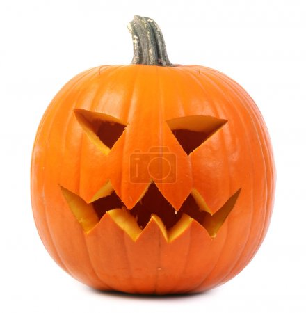Halloween jack-o-lantern pumpkin...