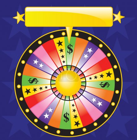 Illustration for Fortune wheel - Royalty Free Image