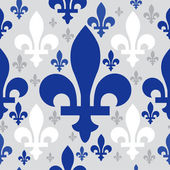 Quebec emblem seamless pattern