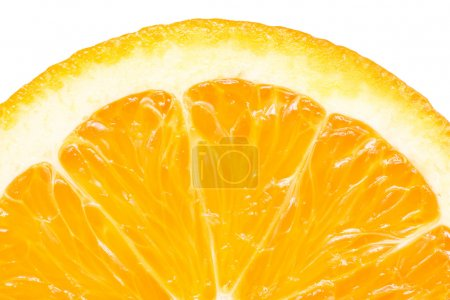Orange Slice Peel Isolated