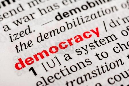 Democracy Word Definition