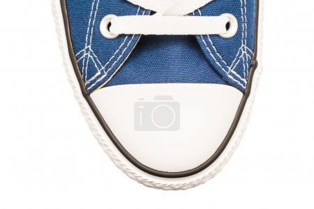 Blue Old Sneakers Top View