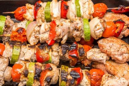 Barbecue Cooking Shishkabob