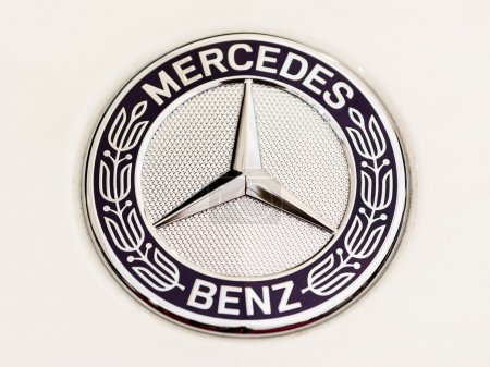 Mercedes Benz Sign Close Up