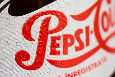 330ml Pepsi Bottle Close Up
