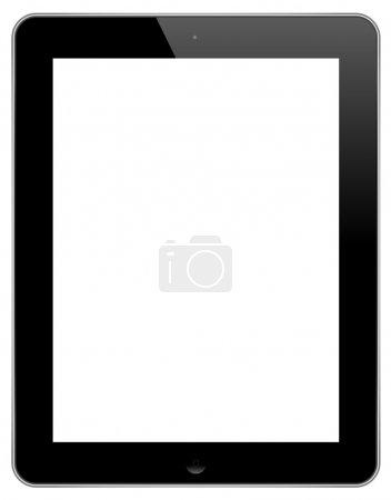 vector illustration modern tablet