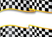 Race background Checkered black and white