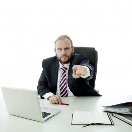 beard business man wants you