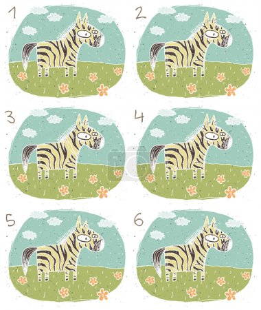 Zebra Visual Game