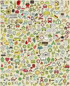 XXL Doodle Icons Set No1
