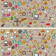 Icons Differences Visual Game. Task: find 10 diffe...