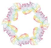 Round Floral Pattern