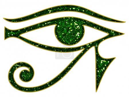 Photo pour Omniscience de Horus oeil - tous les aveugles de Dieu - symbole - image libre de droit