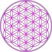 Květ života - posvátné geometrie - symbol harmonie a rovnováhy