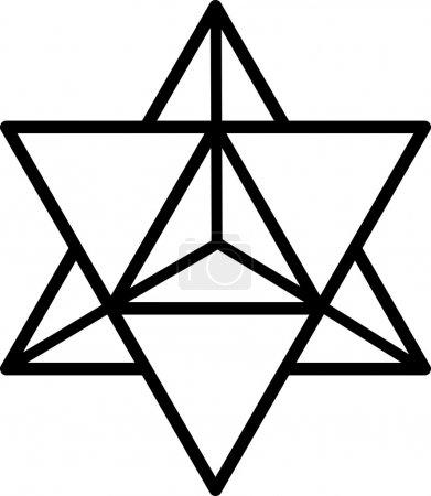 Merkaba - star tetrahedron - Metatrons cube