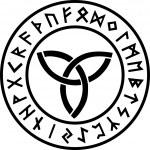Triquetra - Runes - Vector...
