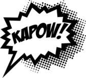 KAPOW! - Comic Speech Bubble