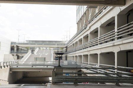 Entrance of car parking deck