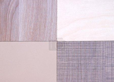 four materials sample