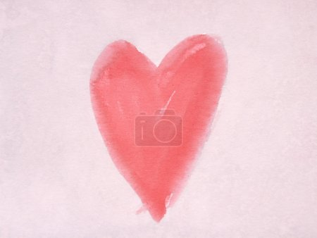 Photo for Heart symbol on vintage paper - Royalty Free Image