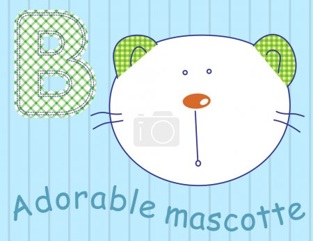 Illustration vector of cute my best friends toys.