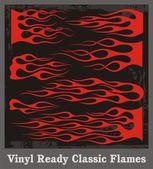 Vinyl Ready Classic Flames