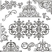 A set of 10 exquisitive and very clean ornamental designs