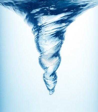 Foto de Hidromasaje en agua azul - Imagen libre de derechos