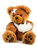 Teddy with bandage