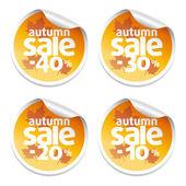 Sale autumn stickers