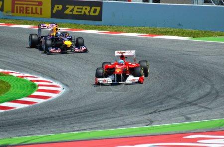 Photo pour Formule 1, Barcelone, Espagne - image libre de droit