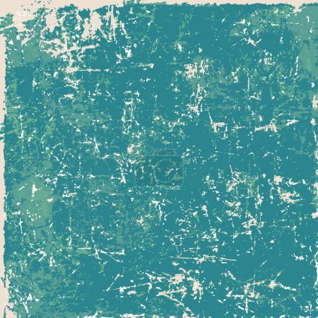 Photo for Green vintage grunge paper texture, background - Royalty Free Image
