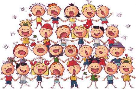 children chorus