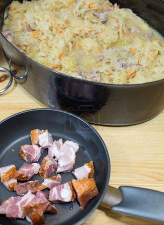 Bigos traditional Polish dish.