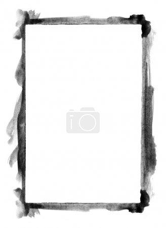 Photo pour Cadre aquarelle grunge - image libre de droit