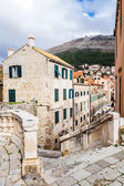 Houses in the old town of Dubrovnik