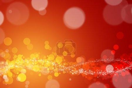 Abstract Orange And Yellow Background