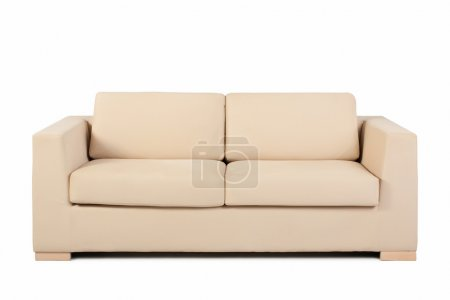 Photo for Couch isolated on white background - Royalty Free Image