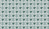 Green and gray ethnic texture and tile background