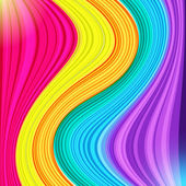 Set of yellow pink blue and violet bands and strips of paint a