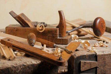 Old carpenters tool