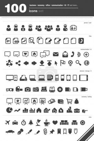 100 Icon set
