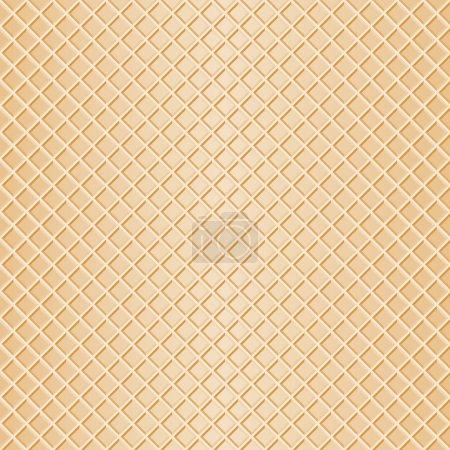 Illustration pour Illustration vectorielle d'un fond gaufré sans couture - image libre de droit