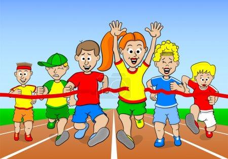 runners and winner