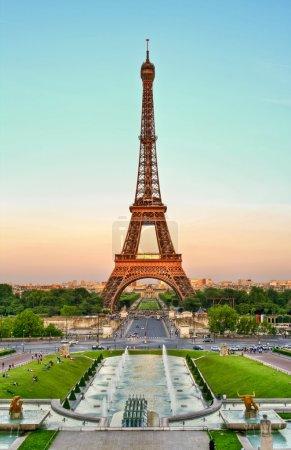 Torre Eiffel and Trocadero