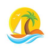 Travel Logo Vector Sign